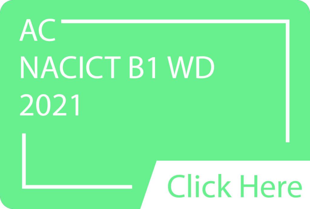 AC- NACICT B1 WD.siba.edu.lk