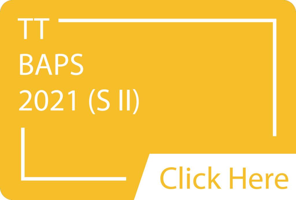 BAPS 2021 SII TT.siba.edu.lk