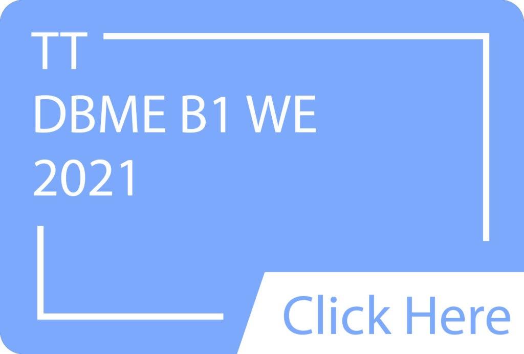 DBME B1 WE.siba.edu.lk