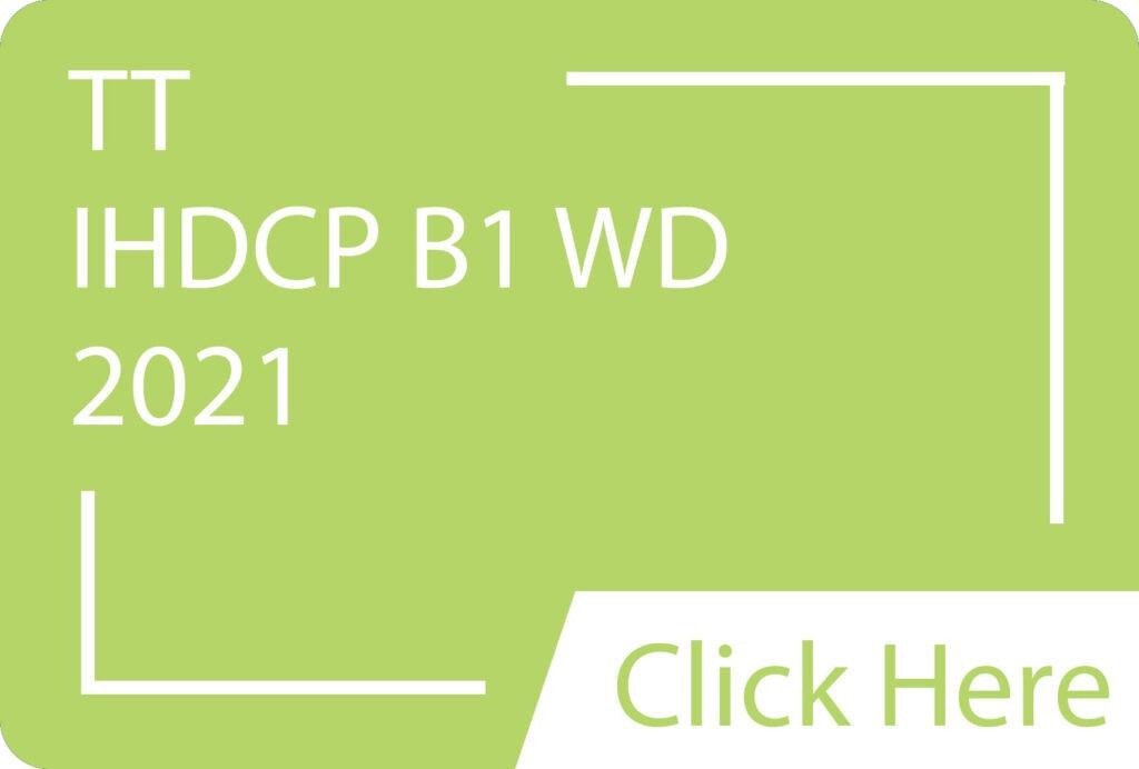 IHDCP B1 WD 2021.siba.edu.lk