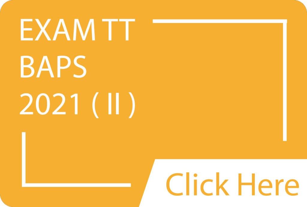 BAPS Exam TT 2021 ( II ).siba.edu.lk