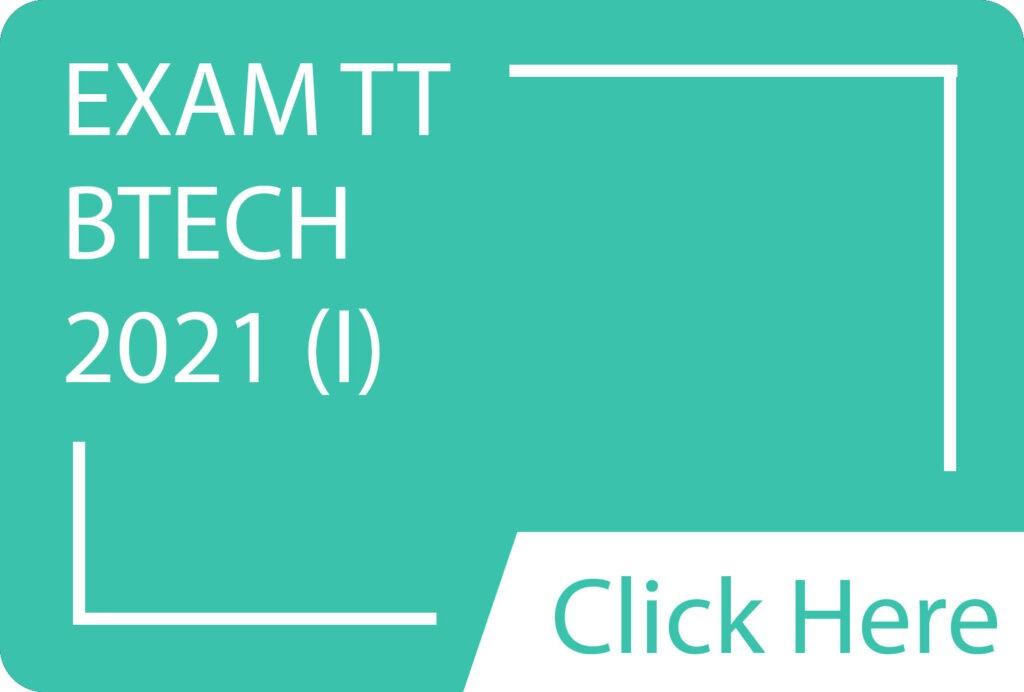 Exam TT BTECH 2021(I).siba.edu.lk