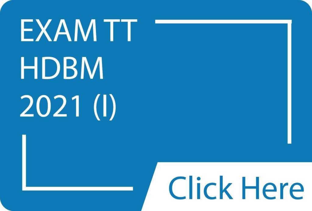 Exam TT HDBM 2021(I).siba.edu.lk
