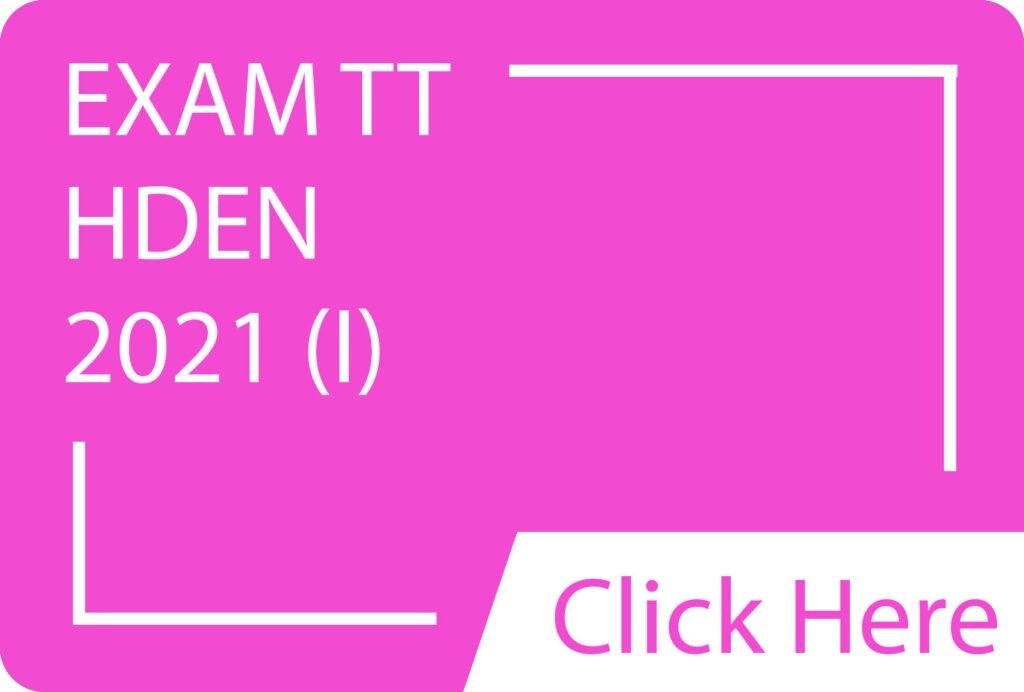 Exam TT HDEN 2021(I).siba.edu.lk