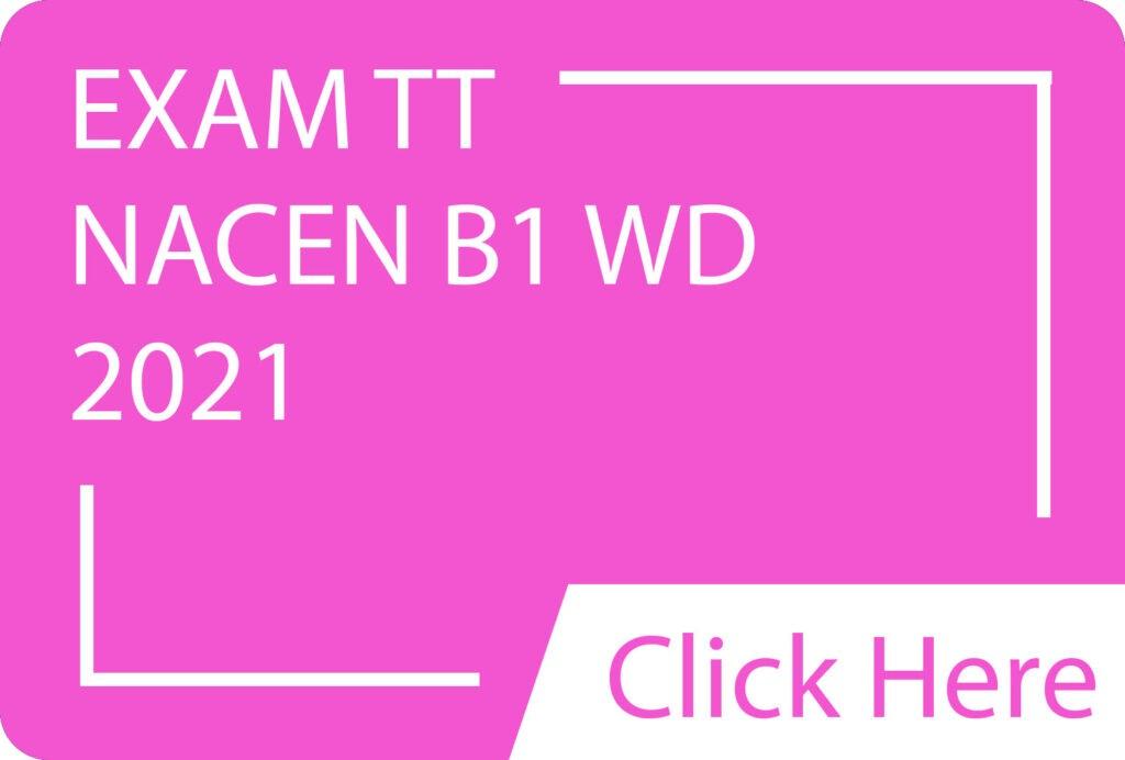 Exam TT NACEN B1 WD.siba.edu lk