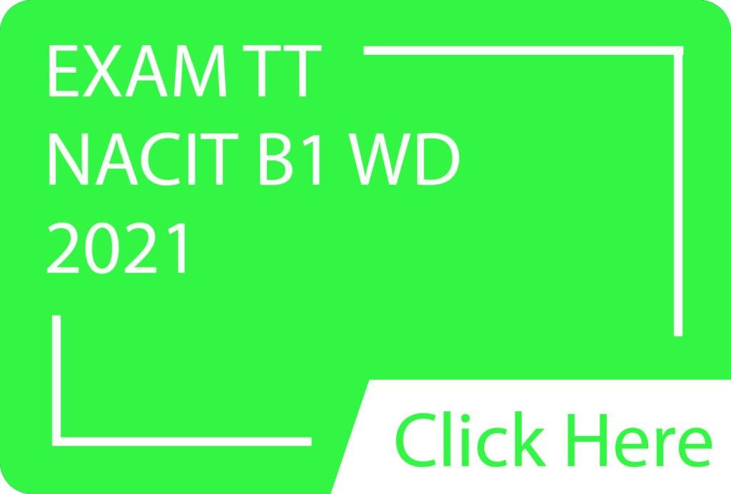 Exam TT NACIT B1 WD.siba.edu lk