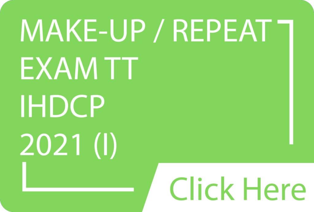 M & R Exam TT IHDCP 2021(I).siba.edu.lk