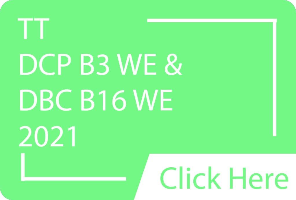 TT DCP B3 & DBC B16 WE.siba.edu.lk